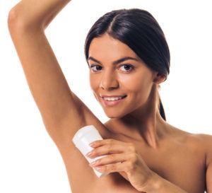 Desodorante feminino em bastão