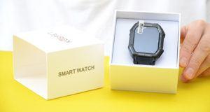 Smart Watch na caixa