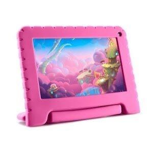 Tablet infantil rosa