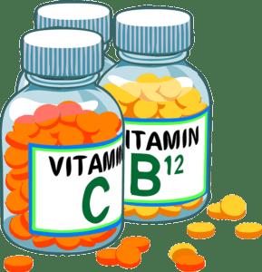 diferentes vitaminas