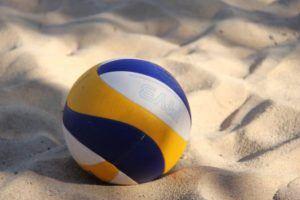 Bola de vôlei de praia