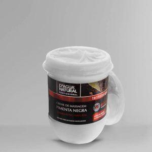 Creme de Massagem Pimenta Negra - D'agua Natural