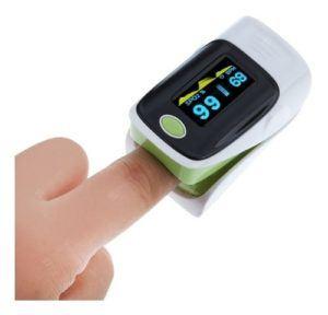 Oxmetro de pulso de dedo